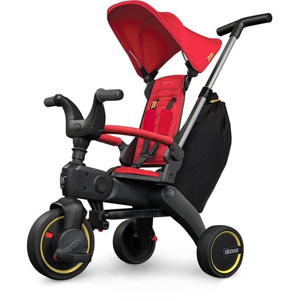 Tricicleta DOONA Liki Trike S3 SP53099031041, 10 luni - 3 ani, rosu