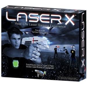 Blaster LASER X Single 88011X, 6 ani+, gri-verde