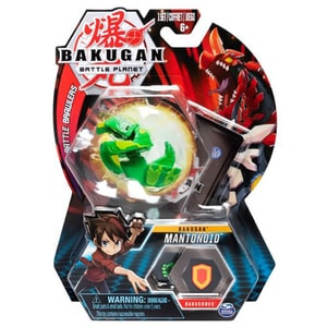 Figurina BAKUGAN Mantonoid Mantis Green 6045148_20107948, 6 ani+, verde-gri
