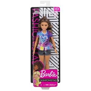 Papusa BARBIE Fashionistas Adolescenta MTFBR37-FYB31, 3 ani+, multicolor