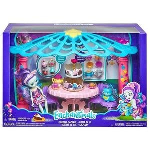 Papusa MATTEL Enchantimals Garden Gazebo MTFRH49, 4 ani+, multicolor