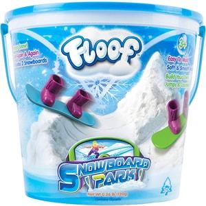 Spuma modelatoare FLOOF Snowboard park FL4400, 3 ani+, alb