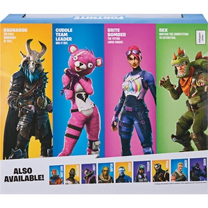 Set 4 figurine FORTNITE Squad Mode FNT0019, 8 ani+, multicolor