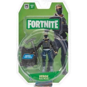 Figurina FORTNITE Verge FNT0100, 8 ani+, albastru inchis-negru