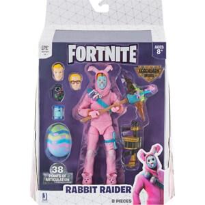 Figurina FORTNITE Rabbit Raider FNT0124, 8 ani+, roz-bleu