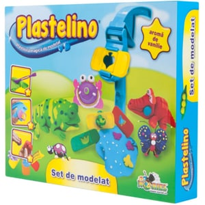 Set PLASTELINO Set de modelat INT5430, 3 ani+, multicolor