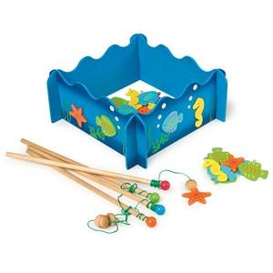 Joc educativ LEGLER Lumea apelor LE8196, 3 ani+, lemn, 1 jucator