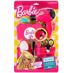 Jucarie de rol MEGA CREATIVE Barbie coafor MC397612, 3 ani+, roz-negru