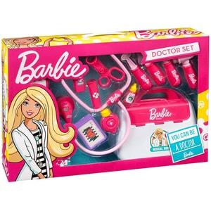 Jucarie de rol MEGA CREATIVE Barbie doctor MC397614, 3 ani+, alb-roz
