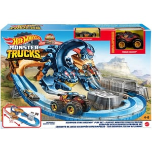 Pista HOT WHEELS Scorpionul MTGNB05, 4-8 ani, multicolor