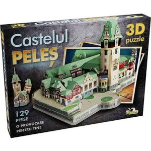 Puzzle 3D NORIEL Castelul Peles NOR2945, 4 ani+, 129 piese