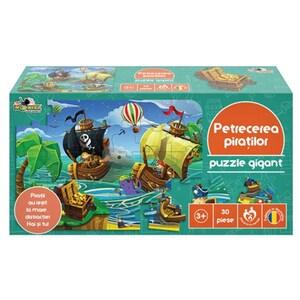Puzzle NORIEL Petrecerea Piratilor NOR4161, 3 ani+, 30 piese