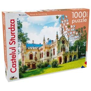 Puzzle NORIEL Peisaje din Romania - Castelul Sturdza NOR5267, 5 ani+, 1000 piese