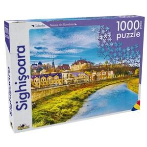 Puzzle NORIEL Peisaje din Romania - Sighisoara NOR5274, 5 ani+, 1000 piese
