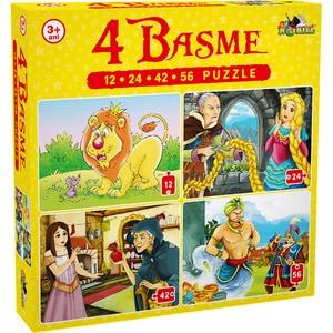Puzzle NORIEL 4 basme NOR5328, 3 ani+, 134 piese
