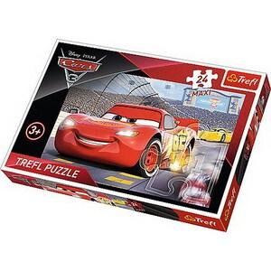 Puzzle TREFL Campionul Mcqueen Cars 3 14250, 3 ani+, 24 piese