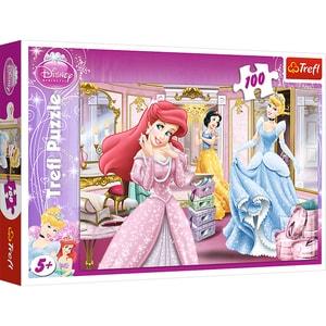 Puzzle TREFL Disney - Pregatire pentru bal 16186, 5 ani+, 100 piese
