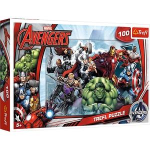 Puzzle TREFL Incepe atacul Marvel 16272, 5 ani+, 100 piese