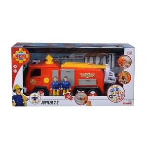 Masina de pompieri SIMBA Fireman Sam Jupiter 2.0 SAM36038, 3 ani+, multicolor