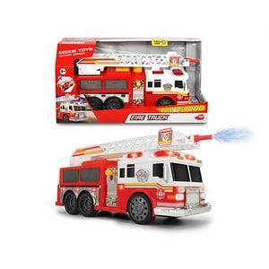 Masina de pompieri cu lumini si suntete DICKIE 203308377, 3 ani+, alb-rosu