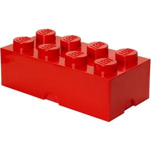 Cutie depozitare LEGO STORAGE 40041730, 2x4, rosu