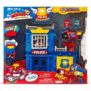 Set 2 figurine SUPERZINGS Sectia de politie SZ9003, 3 ani+, multicolor
