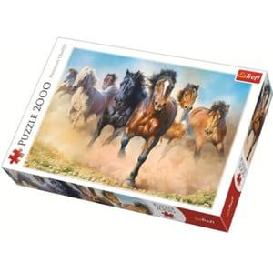 Puzzle TREFL Herghelie de cai galopand 27098, 12 ani+, 2000 piese