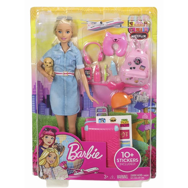 Set BARBIE Dreamhouse - In vacanta MTFWV25, 3 ani+, multicolor