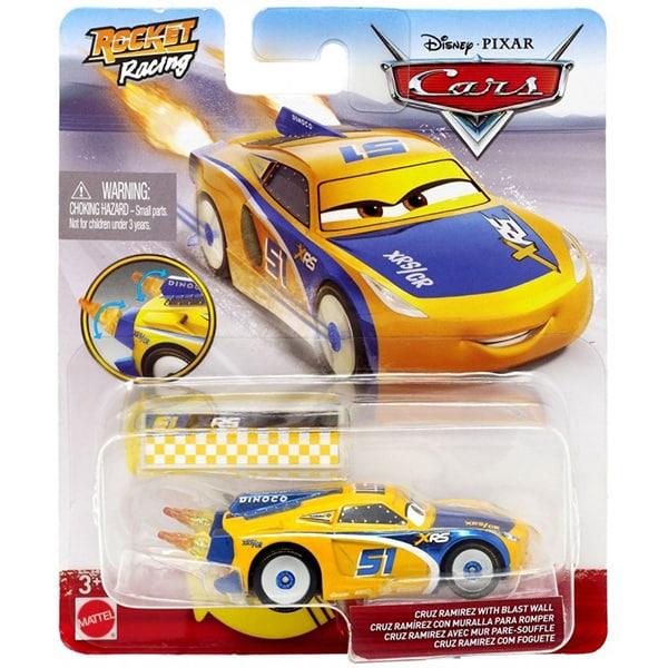 Masinuta CARS Cruz Ramirez XRS MTGKB87_GKB89, 3 ani+, galben-albastru