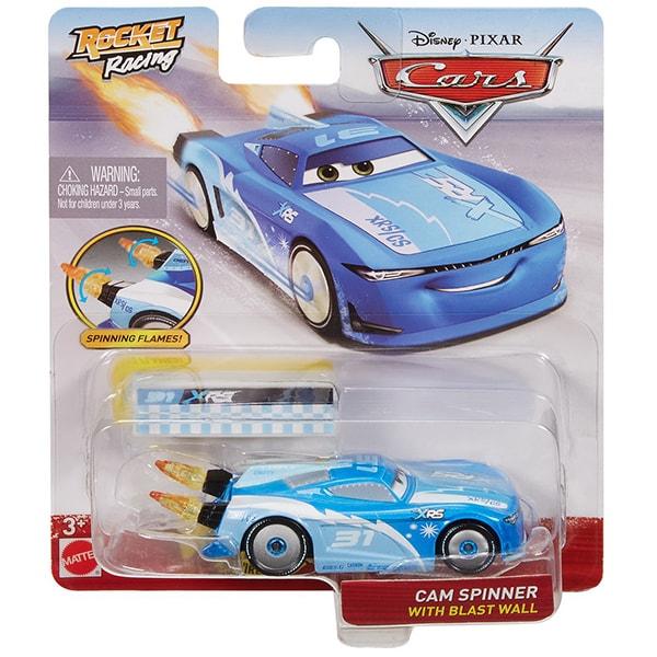 Masinuta CARS Cam Spinner XRS MTGKB87_GKB93, 3 ani+, albastru-alb