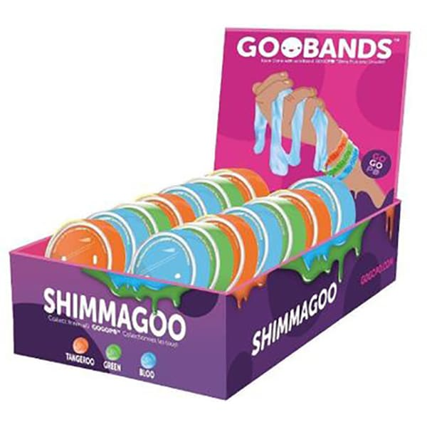 Jucarie senzoriala Slime KEYCRAFT cu Bratara Shimmagoo GP080, 3 ani +, multicolor