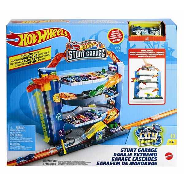 Set HOT WHEELS Ultimate garage MTGNL70, 4 ani+, multicolor
