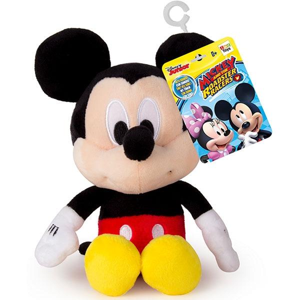 Jucarie de plus DISNEY Mickey Mouse cu sunete 182387, 0 luni+, negru-rosu