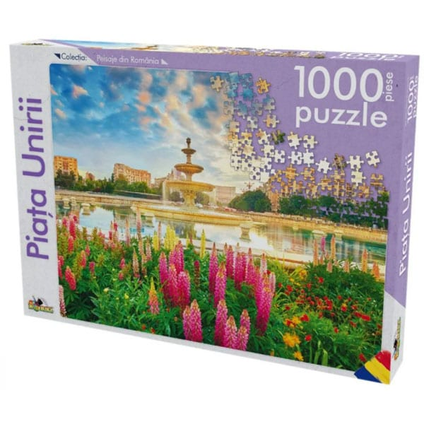 Puzzle NORIEL Peisaje din Romania - Piata Unirii NOR5403, 8 ani+, 1000 piese