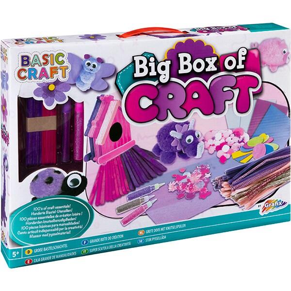 Jucarie creativa GRAFIX Set mare craft roz RG1122, 5 ani+, multicolor