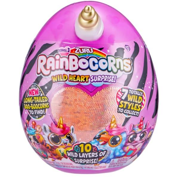 Jucarie de plus RAINBOCORNS Wild Heart 3 ZR9215, 3 ani+, multicolor