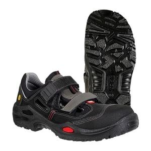 Sandale de protectie JALAS 1605 S1P SRC, bombeu aluminiu, PU, marime 38, negru