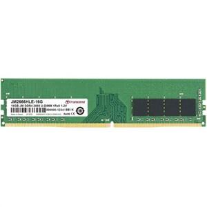 Memorie desktop TRANSCEND JetRam, 16GB DDR4, 2666Mhz, CL19, JM2666HLE-16G