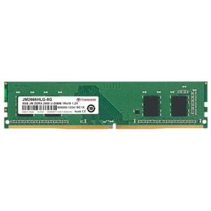 Memorie desktop TRANSCEND JetRam, 8GB DDR4, 2666Mhz, CL19, JM2666HLG-8G