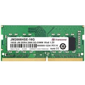 Memorie laptop TRANSCEND JetRam, 2x8GB DDR4, 2666Mhz, CL19, JM2666HSE-16G