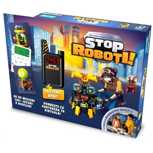Joc de societate NORIEL Stop The Robots 3820112, 7 ani+, 1-6 jucatori