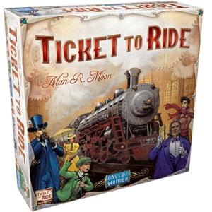 Joc de societate ASMODEE Ticket to Ride 721801, 8 ani+, 2-5 jucatori