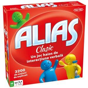 Joc de societate TACTIC Alias Clasic 54289, 10 ani+, 4 - 10 jucatori