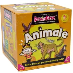 Joc de societate BRAINBOX Animale BX0025, 8 ani+, 1-6 jucatori
