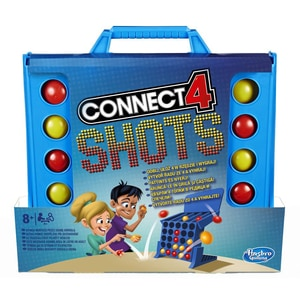 Joc de societate HASBRO Games Connect 4 Shots E3578, 8 ani+, 2 - 8 jucatori