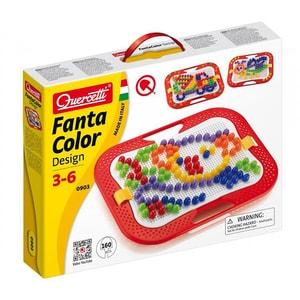 Joc educativ QUERCETTI Fantacolor design D15 Q0903, 3 - 6 ani, 160 piese