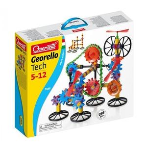 Joc constructie QUERCETTI Georello 3D Gear Tech Q2389, 5 - 12 ani, 266 piese