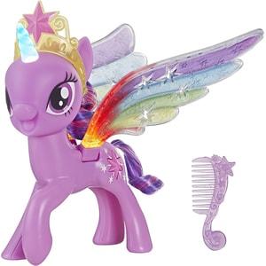 Figurina MY LITTLE PONY Twilight Sparkle cu aripi stralucitoare E2928, 3 ani+, multicolor
