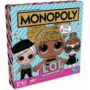 Joc de societate HASBRO Monopoly LOL Surprise E7572, 8 ani+, 2 - 4 jucatori