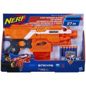 Blaster NERF Elite Stryfe A0200, 8 ani+, portocaliu-negru